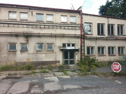 Výrobní areál v obci Čenkov , okr. Příbram